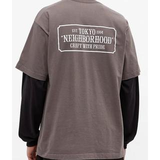 ネイバーフッド(NEIGHBORHOOD)のNEIGHBORHOOD 21SS BAR & SHIELD C-TEE  XS(Tシャツ/カットソー(半袖/袖なし))
