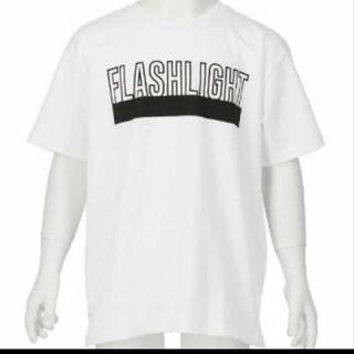 アナップキッズ(ANAP Kids)のANAPkids新品プリントロゴTシャツホワイト(Tシャツ/カットソー)