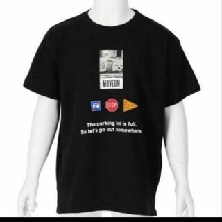 アナップキッズ(ANAP Kids)のANAPkids新品フォトプリントTシャツブラック(Tシャツ/カットソー)
