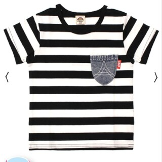 アナップキッズ(ANAP Kids)のANAPkids新品デニムポケットTシャツ(Tシャツ/カットソー)
