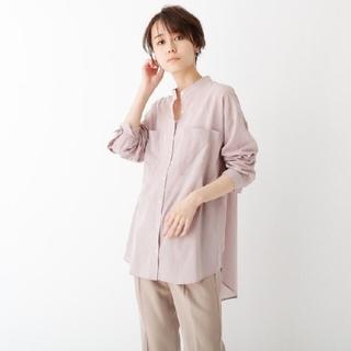 OPAQUE.CLIP - スーパーハイカウントシアーシャツ