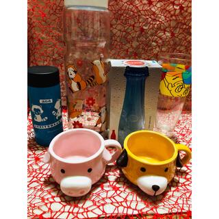 ラスカル瓶 アトムグラス コカコーラグラスなど6点セット(キャラクターグッズ)