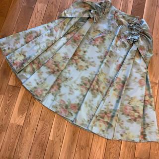 KANEKO ISAO - カネコイサオ KANEKO ISAO  リボン フラワー ドレス スカート