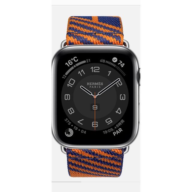 Apple Watch(アップルウォッチ)の【新品未開封】2021年春 アップルウォッチ エルメス 新作バンド メンズの時計(ラバーベルト)の商品写真