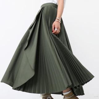 SHE TOKYO サイドプリーツスカート