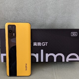 Realme GT 5G 12/256GB イエローレザー CN版