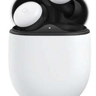 グーグル(Google)のグーグルピクセル フルワイヤレスイヤホン GA01470-UK ホワイト (ヘッドフォン/イヤフォン)