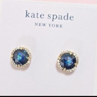 kate spade new york - 【新品】kate spade ケイトスペード ピアス ブルーザットスパークルパヴ