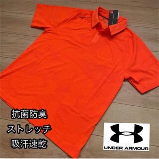 UNDER ARMOUR - 【L】新品定価9900円/アンダーアーマー /メンズ/半袖ポロシャツ