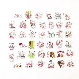 マリーちゃん ♡.*˚ 防水 ステッカー 40枚 ✩.*˚シール Disney(キャラクターグッズ)