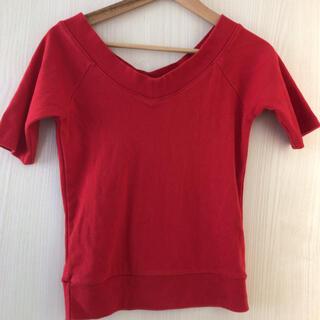 エージープラス(a.g.plus)のエージープラス トップス(Tシャツ(半袖/袖なし))