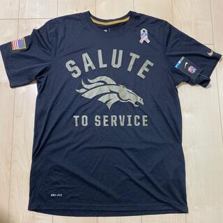 ナイキ(NIKE)のNFL Denver Broncos Tシャツ(未使用品)(アメリカンフットボール)