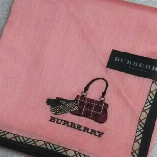 バーバリー(BURBERRY)のバーバリー☆大判ハンカチーフ58×58(ハンカチ)
