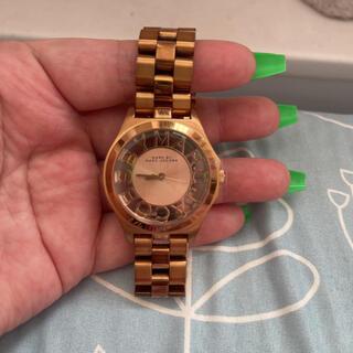マークバイマークジェイコブス(MARC BY MARC JACOBS)の【値下交渉可能‼️】腕時計 MARC JACOBS レディース ゴールド(腕時計)