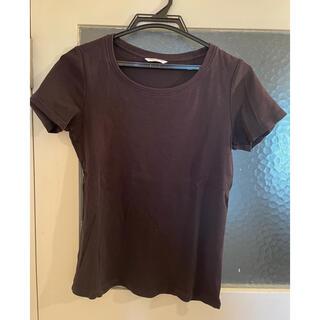 ユニクロ(UNIQLO)のユニクロブラックTシャツ(Tシャツ(半袖/袖なし))