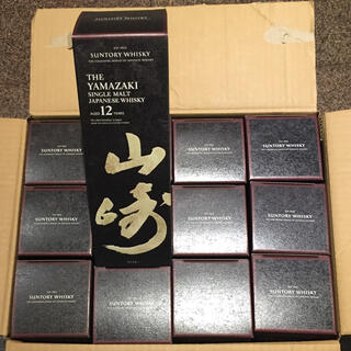 サントリー - 山崎12年 700ml 箱付き 1ケース12本 新品未開封