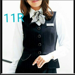 ジョア(Joie (ファッション))の美品 アンジョア OL制服  事務服新品 11号 ベスト(ベスト/ジレ)
