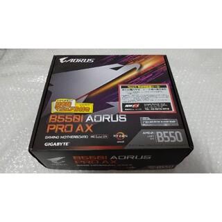 美品 B550I AORUS PRO AX 最新BIOS更新済み miniitx(PCパーツ)