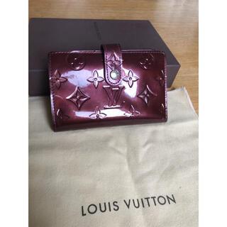 LOUIS VUITTON - 正規品 ルイヴィトン ヴェルニ がま口 折り財布