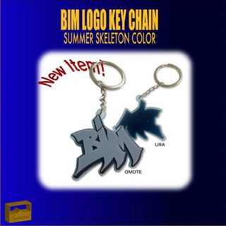 BIM LOGO KEY CHAIN ビム NOT BUSY