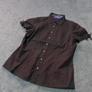 バーバリーブルーレーベル(BURBERRY BLUE LABEL)の半袖ブラウス(シャツ/ブラウス(半袖/袖なし))