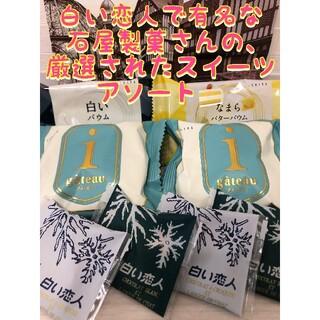 セット2 北海道直送 白い恋人 ガトー バウム 石屋製菓 詰め合わせ セット(菓子/デザート)