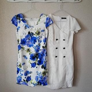 デイジーストア(dazzy store)のdazzystore キャバドレス ワンピース 2枚おまとめセット(ナイトドレス)