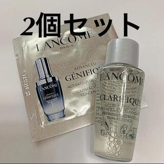 LANCOME - ランコム ジェニフィック 美容液 デュアル エッセンス サンプル 化粧水