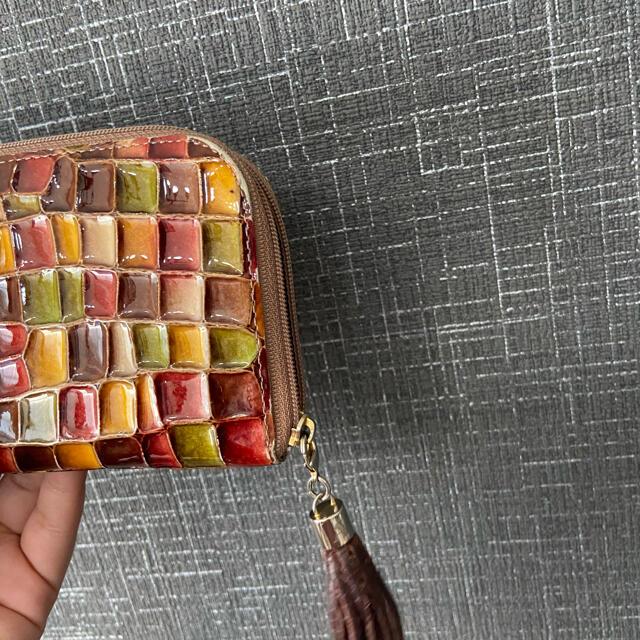 ATAO(アタオ)のATAO リモヴィトロ ボルドー 長財布 ステンドグラス アタオ レディースのファッション小物(財布)の商品写真