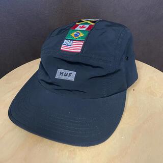 ハフ(HUF)のHUF Global Domimation ジェット キャップ 国旗 刺繍(キャップ)
