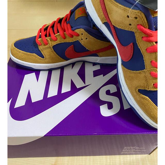 NIKE(ナイキ)のNIKE SB ダンク LOW プロ Wheat and Purple メンズの靴/シューズ(スニーカー)の商品写真