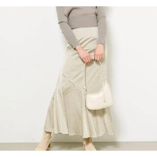 snidel - ドットジャガードナロースカート