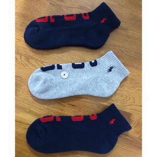 Ralph Lauren - 新品ポロラルフローレン メンズソックス 靴下 3足セット430
