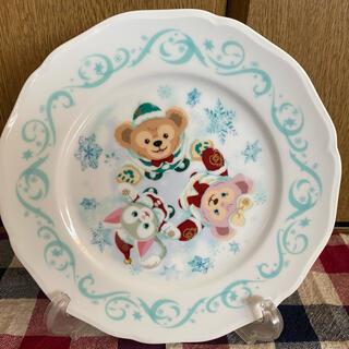ダッフィー(ダッフィー)のDUFFY クリスマスお皿 新品未使用レア(キャラクターグッズ)