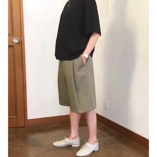 超美品★完売STUDIO NICHOLSONスタジオニコルソン カーキ ハーパン