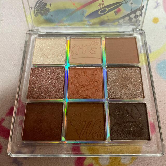 3ce(スリーシーイー)のZEESEA(ズーシー) クォーツ アイシャドウパレット9色アイシャドウ コスメ/美容のベースメイク/化粧品(アイシャドウ)の商品写真