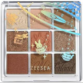 3ce - ZEESEA(ズーシー) クォーツ アイシャドウパレット9色アイシャドウ
