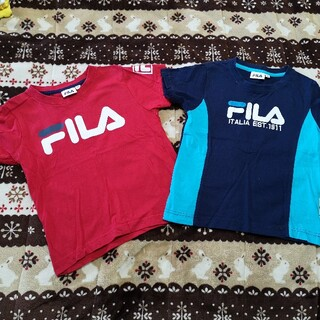 FILA - フィラ Tシャツ セット