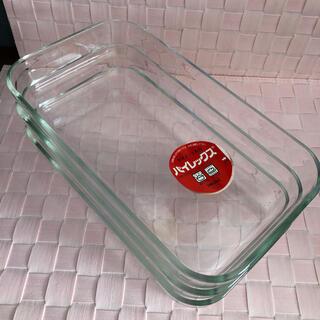 パイレックス(Pyrex)の新品 パイレックス オープン容器 3枚セット 耐熱(容器)