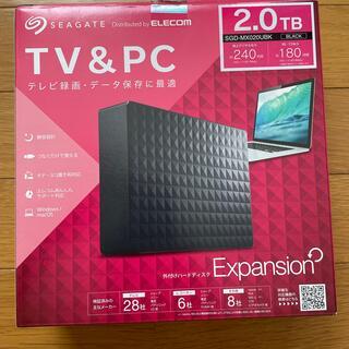 エレコム(ELECOM)のELECOM SEAGATE 外付けハードディスク2.0TB(DVDレコーダー)