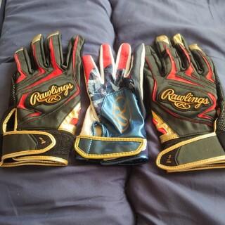 Rawlings - ローリングス 野球 バッティンググローブ 両手用 高校野球対応 スマホ対応