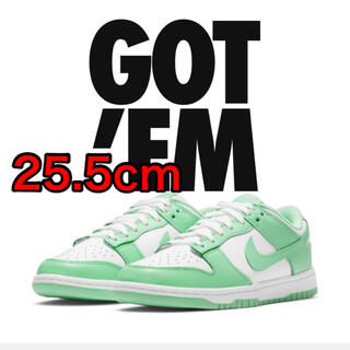 "NIKE - NIKE WMNS DUNK LOW ""GREEN GLOW"" 25.5cm"
