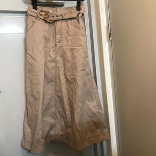 ウィルセレクション(WILLSELECTION)のウィルセレクション スカート 新品未使用(ひざ丈スカート)