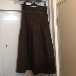 ウィルセレクション(WILLSELECTION)のウィルセレクション ロングスカート 未使用(ロングスカート)