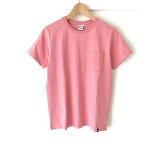 THE NORTH FACE - 【新品】ノースフェイス/ヘビーウェイト ワンポイントロゴ刺繍 ポケットTシャツ