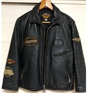 Harley Davidson - ハーレーダビッドソン ライダース シングル バイク 革ジャンパー