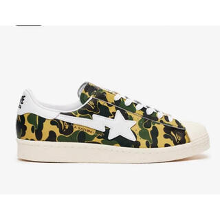 A BATHING APE - ADIDAS X BAPE SUPERSTAR80S 27.5cm