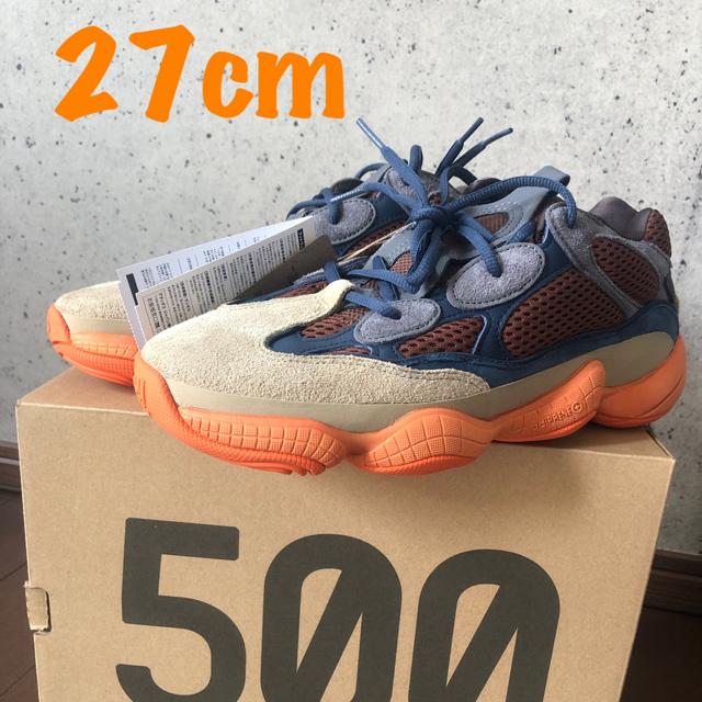 "adidas(アディダス)のadidas YEEZY 500 ""ENFLAME"" 27.0 メンズの靴/シューズ(スニーカー)の商品写真"