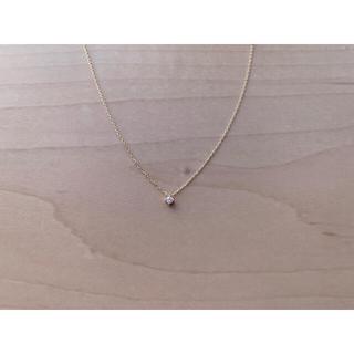 エテ(ete)のete K10 レイヤー ダイヤモンド ネックレス(ネックレス)