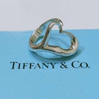 Tiffany & Co. - ティファニー オープンハートリング 8号